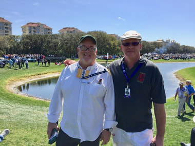 Cortile Cup Chief Judge Wayne Long and Cortile Managing Director, Bernard Martin